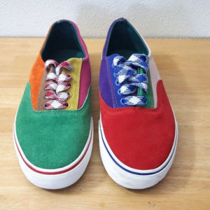 UNIF Corbins Colorful Suede Sneaker Shoes
